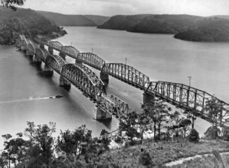 The Hawkesbury River Railway Bridges