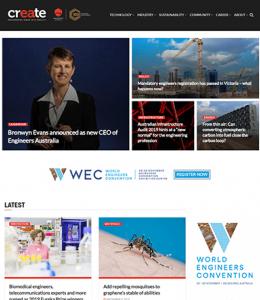 create | Member Magazine | Engineers Australia | Engineers