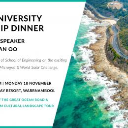 Leadership dinner in Warrnambool