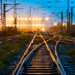 Supercomputing in Train and Track Analyses