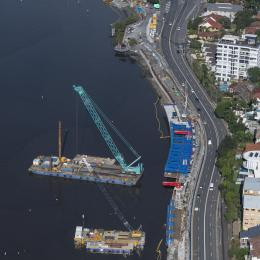 Between a rock and a hard place: the Kingsford Smith Drive upgrade