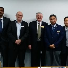 CEO and National President's Visit to Asia