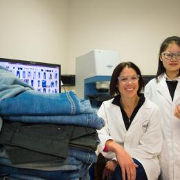 Engineers recycle jeans into artificial cartilage