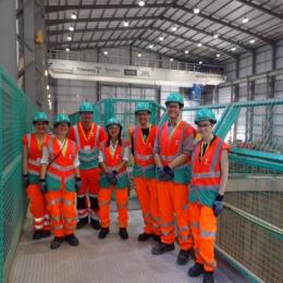 Engineers visit Super Sewer in London
