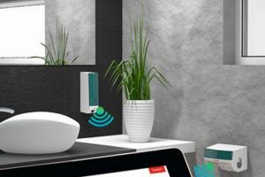 Researchers from Fraunhofer Society in Germany have come up with a washroom information service which uses sensors that are connected wirelessly to automatically monitor soap, cotton towel and toilet paper levels.
