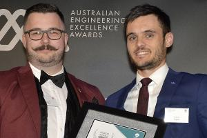 Butler takes out Young Professional Engineer of the Year at WA Excellence Awards