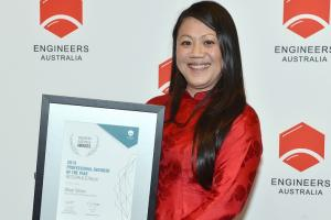 Selman awarded 2019 Professional Engineer of the Year WA