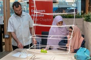 Straw Building Competition Qatar