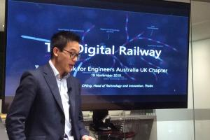 EA UK Chapter Technical Talk on the Digital Railway
